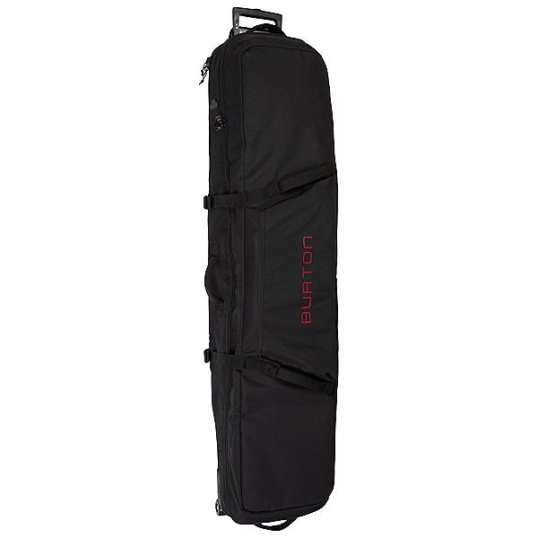 Burton Wheelie Locker 166 Wheeled Snowboards Bag 2021, True Black, 600