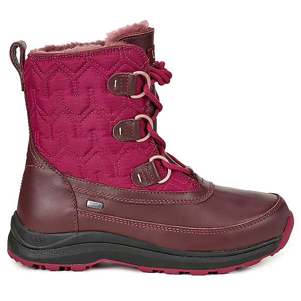 UGG Lachlan Womens Boots, Cordovan, 600