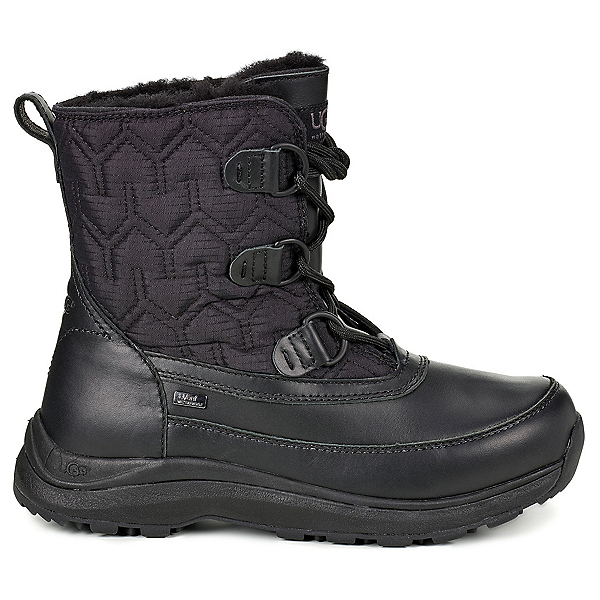 UGG Lachlan Womens Boots, Black, 600