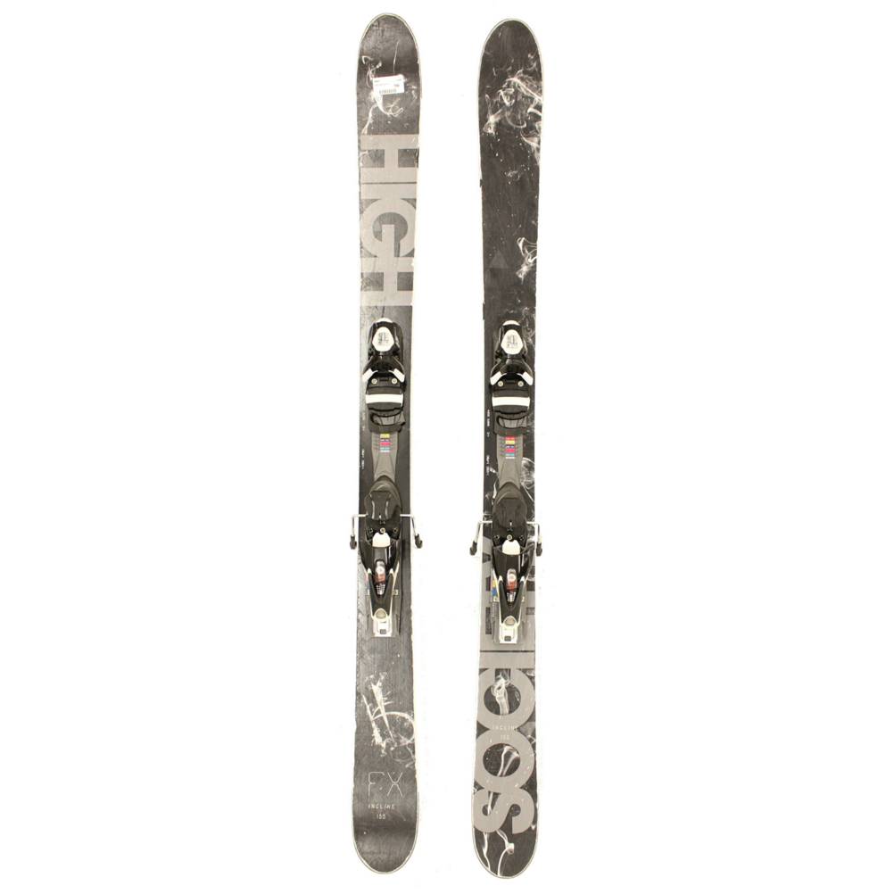 Used 2014 Mens High Society FX Skis w Salomon 120 Bindings