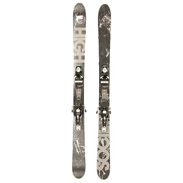 Used 2014 Mens High Society FX Skis w Salomon 120 Bindings, , 600