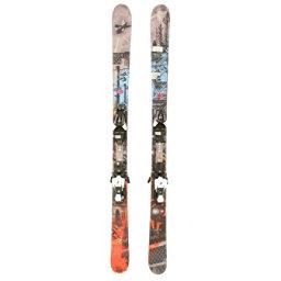 Used 2014 Mens Nordica Badmind Skis w Salomon L7 Bindings, , 256
