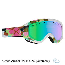 Anon Tracker Kids Goggles 2018, Birdie-Green Amber, 256