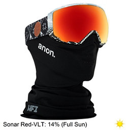 Anon WM 1 MFI Womens Goggles, Apres-Sonar Red, 256