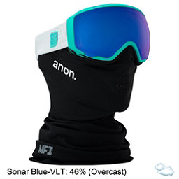 Anon WM 1 MFI Womens Goggles, Empress Teal-Sonar Blue, 256