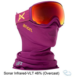 Anon WM 1 MFI Womens Goggles 2018, Purple-Sonar Infrared, 256