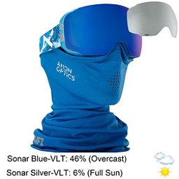 Anon M2 MFI Goggles 2018, Hiker Blue-Sonar Blue, 256