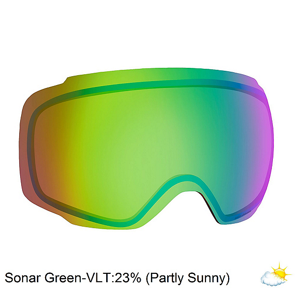 Anon M2 Sonar Goggle Replacement Lens, Sonar Green, 600