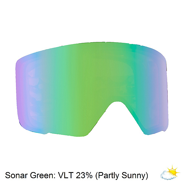 Anon M3 Sonar Goggle Replacement Lens 2018, Sonar Green, 600