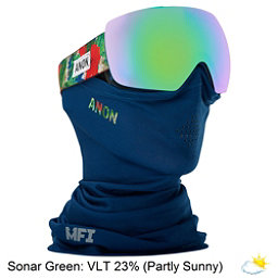 Anon Mig MFI Goggles, Mpi-Sonar Green, 256