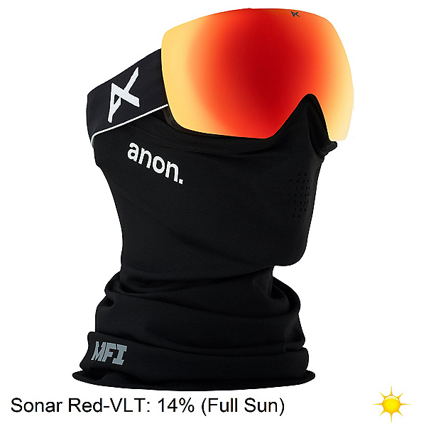 Anon Mig MFI Goggles, Black-Sonar Red, 600