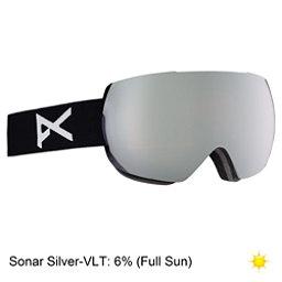 Anon Mig Goggles 2018, Black-Sonar Silver, 256