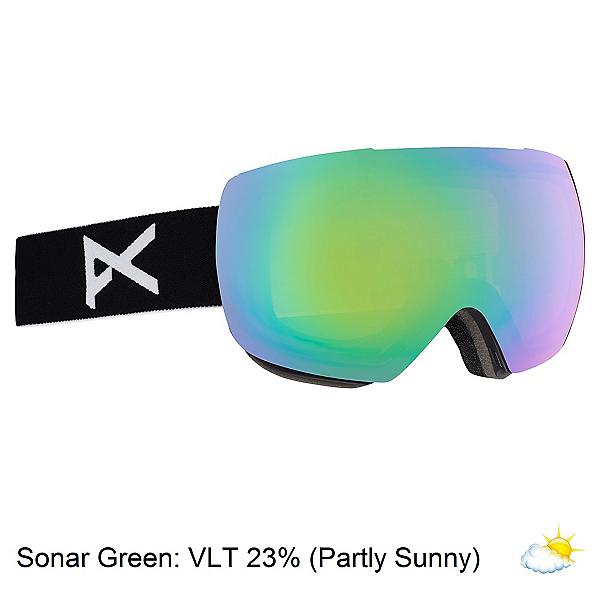Anon Mig Goggles, Black-Sonar Green, 600