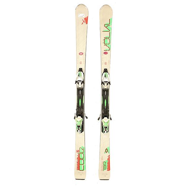 Used 2014 Mens Volkl Code Speewall S Skis w Marker RM Bindings, , 600