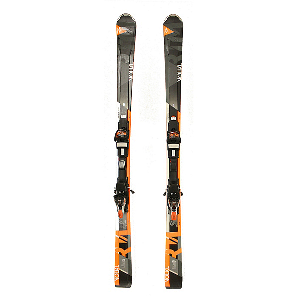 Used 2017 Volkl RTM 8.1 Skis with Marker Wide Ride XL Bindings C Cond SALE, , 600