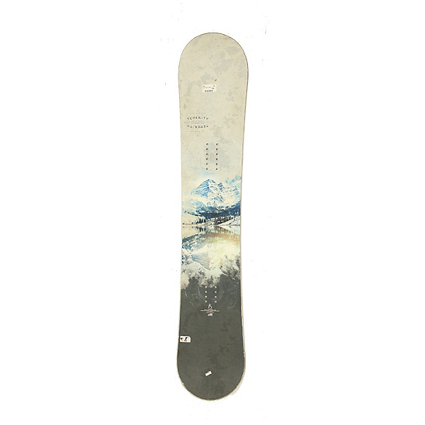 Used High Society Temerity Snowboard Deck Only No Bindings C Condition, , 600