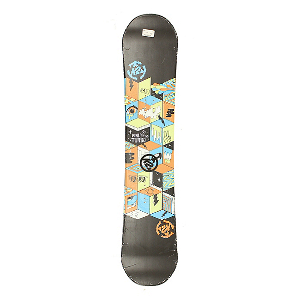 Used 2015 K2 Mini Turbo Kids Snowboard Without Bindings Deck Only C, , 600