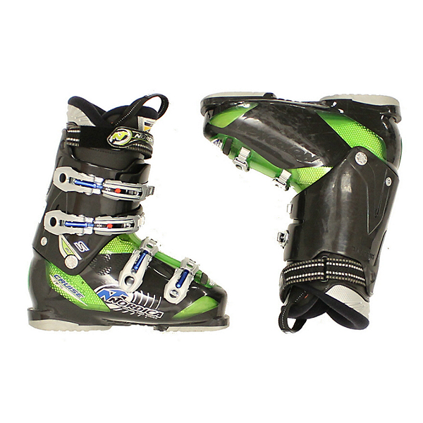 Used 2013 Mens Nordica Cruise NFS 80 Ski Boot Black Green, , 600