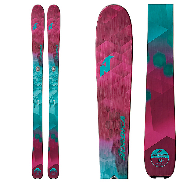 Nordica Astral 88 Womens Skis, , 600