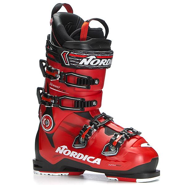 Nordica Speedmachine 130 Ski Boots 2018, Black-Red-Black, 600