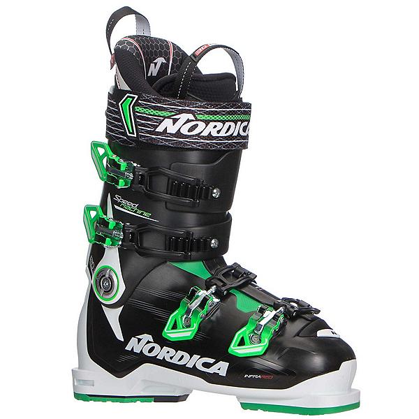 Nordica Speedmachine 120 Ski Boots 2018, White-Black-Green, 600