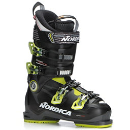 Nordica Speedmachine 90 Ski Boots 2018, Anthracite-Black-Lime, 256
