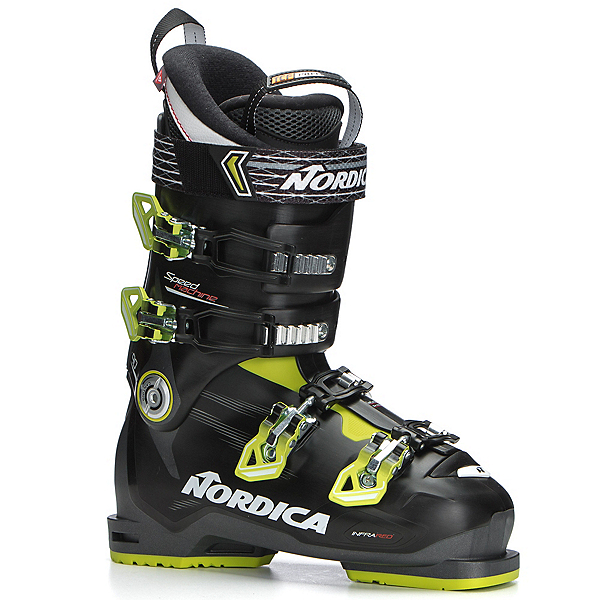 Nordica Speedmachine 90 Ski Boots, Anthracite-Black-Lime, 600
