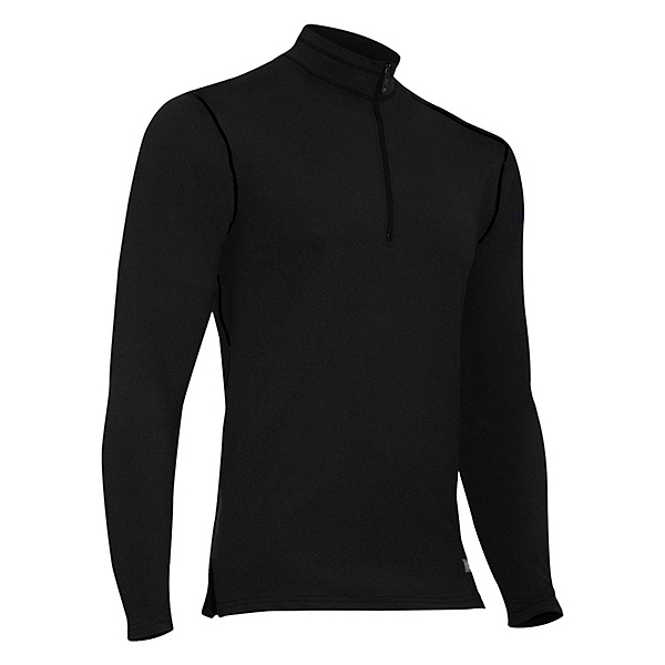 PolarMax Mens Comp4 Acclimate Zip Mock Neck Baselayer Top, , 600
