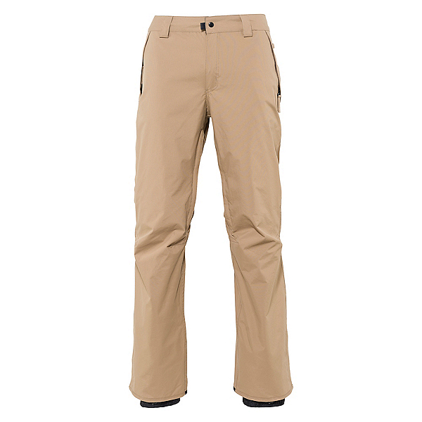 686 Standard Mens Snowboard Pants, Khaki, 600