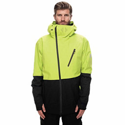 686 GLCR Hydra Thermagraph Jacket, Lime Twill Colorblock, 256