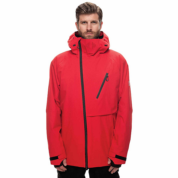 686 GLCR Hydra Thermagraph Jacket, Red Twill, 600