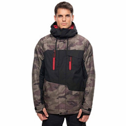 686 Geo Jacket, Fatigue Camo Colorblock, 256