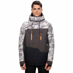 686 Geo Jacket, Grey Camo Colorblock, 256