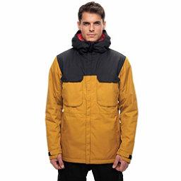 686 Moniker Mens Insulated Snowboard Jacket, Golden Colorblock, 256