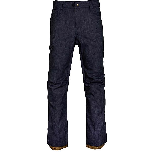 686 Raw Insulated Pants, Navy Denim, 600