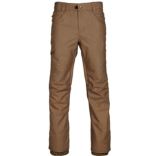 686 Raw Insulated Pants 2018, Khaki Denim, 600