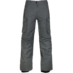 686 Infinity Insulated Cargo Mens Snowboard Pants, Charcoal Melange, 256