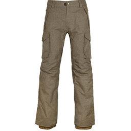 686 Infinity Insulated Cargo Mens Snowboard Pants, Khaki Melange, 256