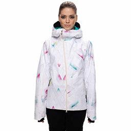 686 GLCR Hydra Jacket, White Diamond Fade, 256