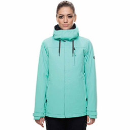 686 Eden Womens Insulated Snowboard Jacket, Aqua, 256
