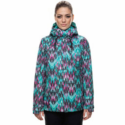 686 Eden Womens Insulated Snowboard Jacket, Kaleidoscope Print, 256