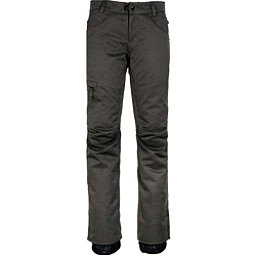 686 Patron Womens Insulated Pants, Charcoal Slub, 256