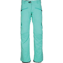 686 Mistress Insulated Cargo Womens Snowboard Pants, Aqua, 256