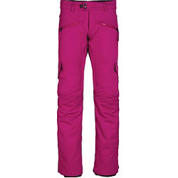 686 Mistress Insulated Cargo Womens Snowboard Pants, Fuchsia, 256