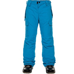 686 All Terrain Insulated Kids Snowboard Pants, Bluebird, 256