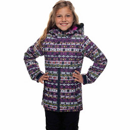 686 Belle Insulated Girls Snowboard Jacket, Nordic Print, 256
