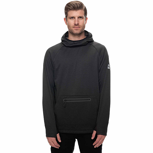 686 GLCR Exploration Tech Fleece Mens Hoodie, Charcoal, 600