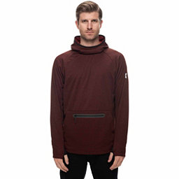 686 GLCR Exploration Tech Fleece Mens Hoodie, Rusty Red, 256