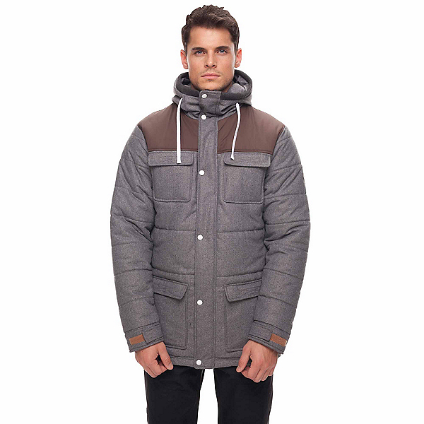 686 Woolly Puffer Insulated Mens Jacket, , 600