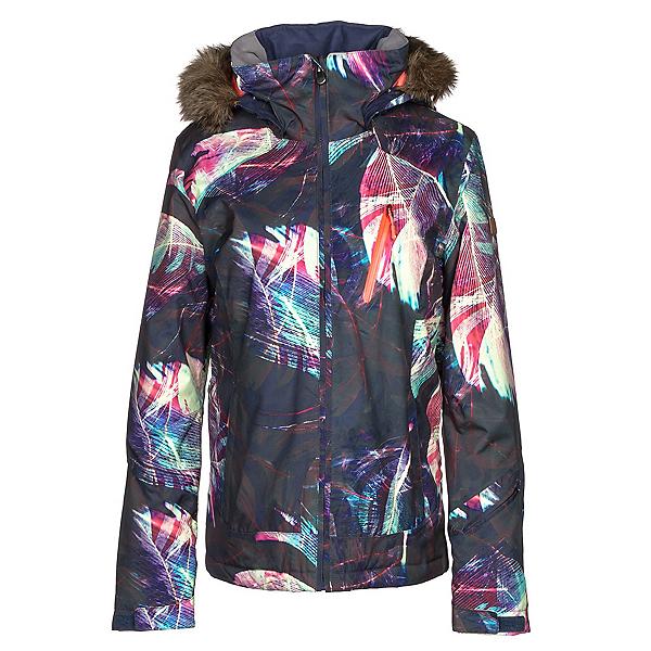 b335bfd9a6f Roxy Jet Ski Premium w Faux Fur Womens Insulated Snowboard Jacket 2018